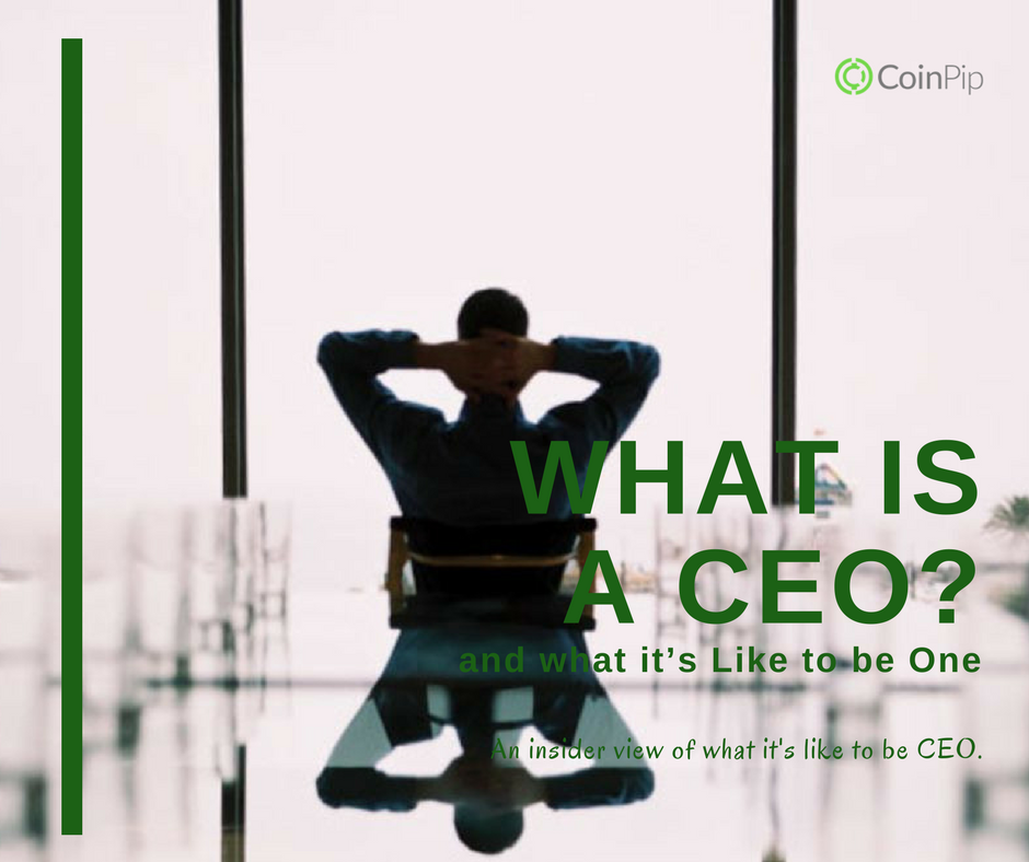 What is a CEO and what it's like to be One