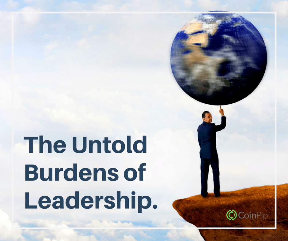 The Untold Burdens of Leadership